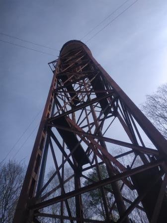 Ремонт узла раздачи водонапорной башни